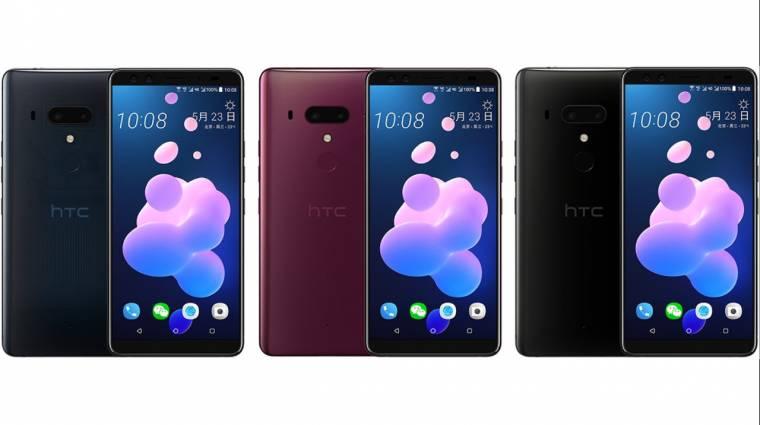 Megint kiszivárgott az HTC U12+ kép