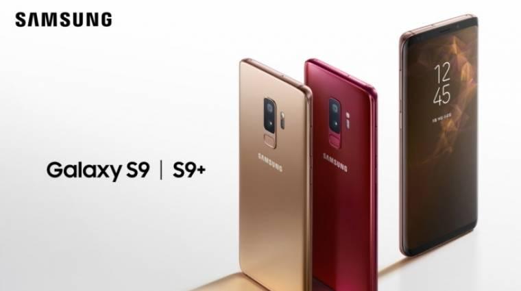 Új színeket kapott a Samsung Galaxy S9 és Galaxy S9+ kép