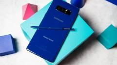 Dizájnt váltott a Samsung Galaxy Note 9 kép