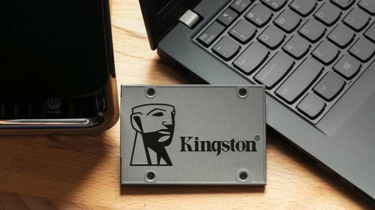 Közkívánatra itt a 2 TB-os Kingston UV500 SSD kép