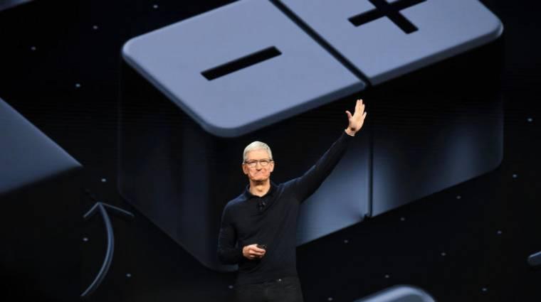 Teljes gőzzel száguld az Apple kép