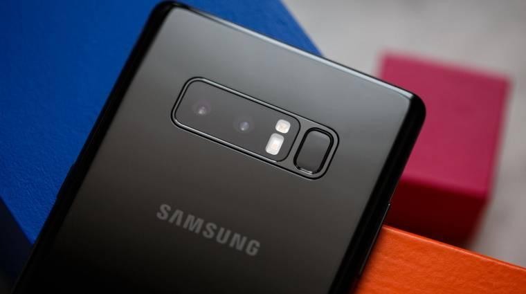 Ezért lesz vízszintes kamerarendszer a Galaxy Note 9-ben kép