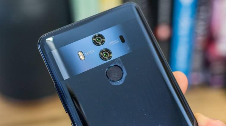6,9 hüvelykes Samsung OLED-kijelzőt kaphat a Huawei Mate 20 Pro kép