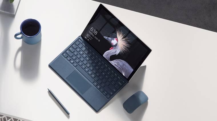 Nagyon komoly megújulást jelent majd a Surface Pro 6 kép