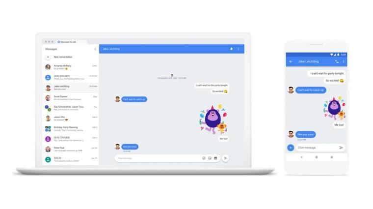 A Google-nek hála asztali gépről is küldhetsz SMS-t kép