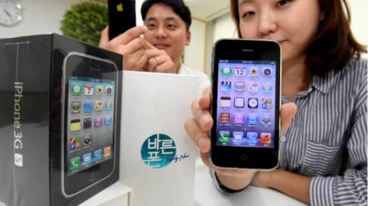 Dél-Koreában újra az iPhone 3GS a divat kép