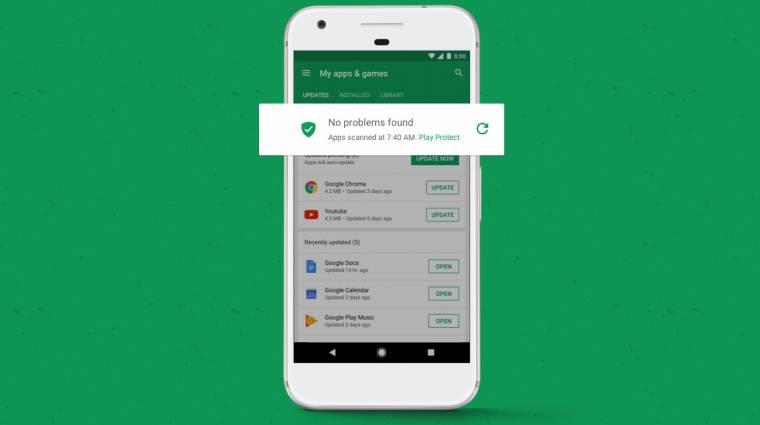 Az offline megosztott androidos appok is biztonságosak lesznek kép