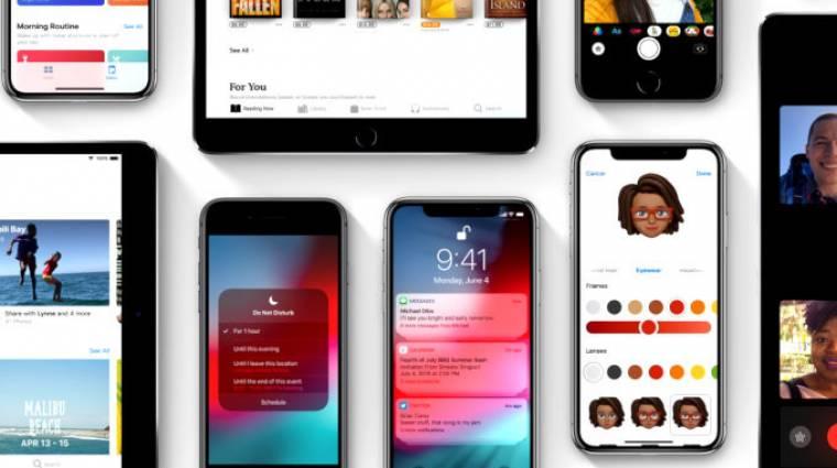 Ezekre az iPhone-okra és iPadekre jön az iOS 12 kép