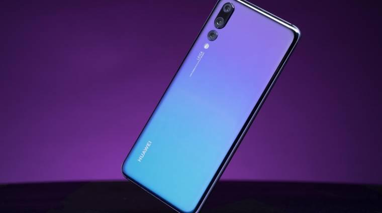 Viszik a Huawei P20-as okostelefonokat, mint a cukrot kép