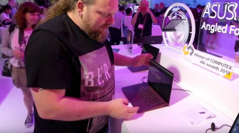 ZenBook S: papírvékony és burgundivörös kép