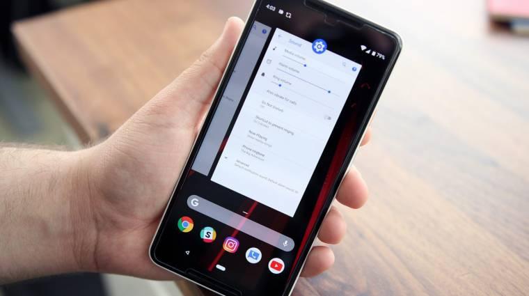Megérkezett az Android P harmadik bétája kép