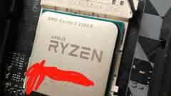 Felbukkant az AMD Ryzen 3 2300X kép