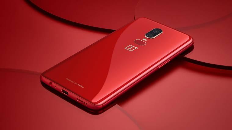 Jön a piros OnePlus 6 kép