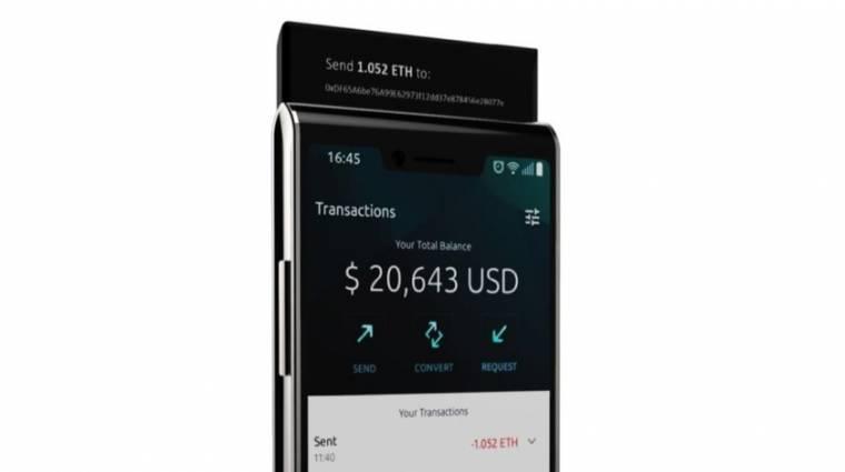 Novemberben jön a méregdrága blockchain-mobil kép