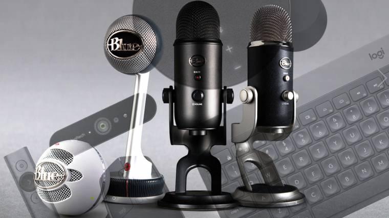 A Logitech megvette a Blue Microphones-t kép
