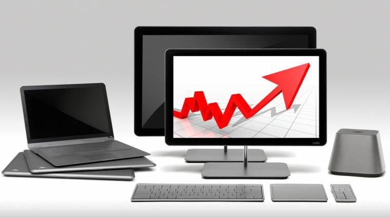 Végre: hat év után először nőttek a PC-eladások kép