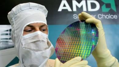 A tőzsdén már nem az Intel a nyerő, hanem az AMD