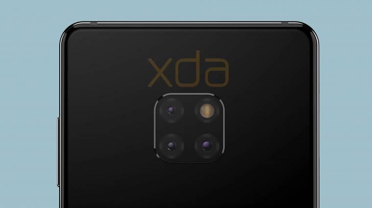 Furcsa külsővel közelít a Huawei Mate 20 kép