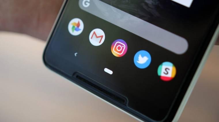 Egyelőre nem kötelező az Android 9 Pie gesztusalapú navigációja kép