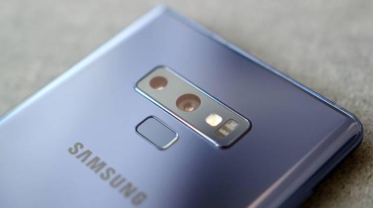 Telitalálat lehet az 512 GB-os Galaxy Note 9 kép