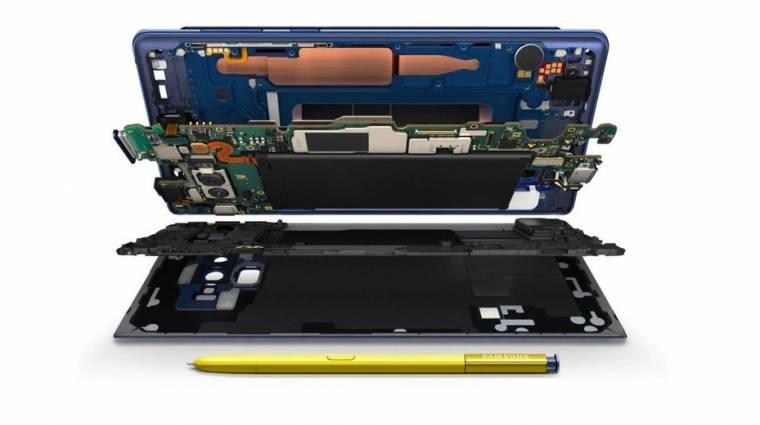 A Samsung megmutatta, hogy hol van a szén a Galaxy Note 9-ben kép
