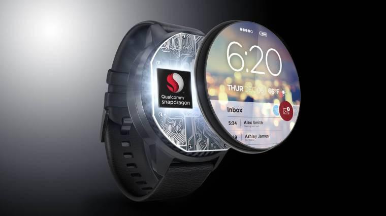 Végre megújulhatnak az okosórák, jön az új Snapdragon Wear chip kép