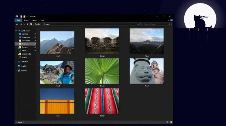 Instant sötétségbe borul a Windows 10 kép