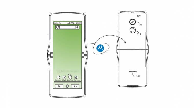 Összehajtható mobilként támadhat fel a Motorola RAZR kép