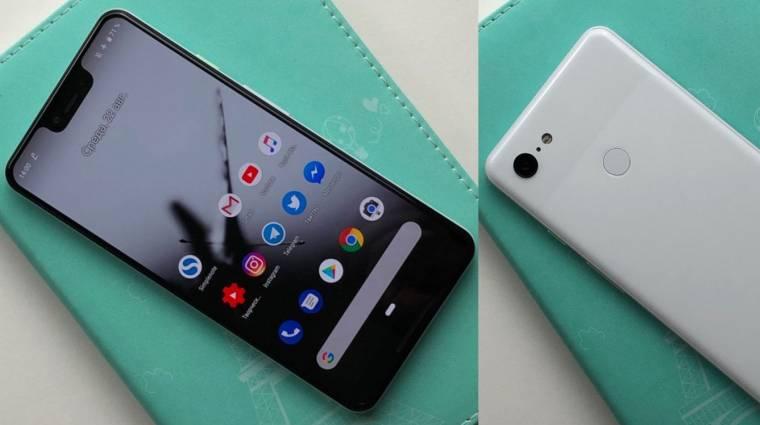 Szuperszelfikkel jön a Google Pixel 3 XL kép