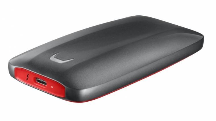 Döbbenetesen gyors a Samsung új hordozható SSD-je kép