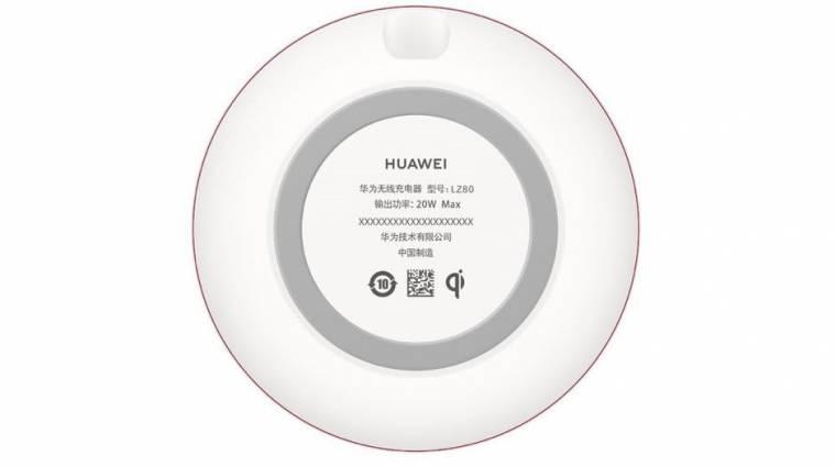 Extrém gyorsan tölthet vezeték nélkül a Huawei Mate 20 Pro kép