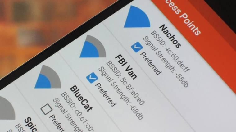 Az Android 9 Pie alapból automatikusan kapcsolgatja a WiFi-t kép