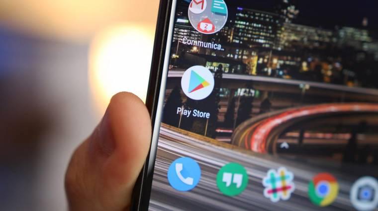 Félbevágta az appokat a Google Play Áruház kép
