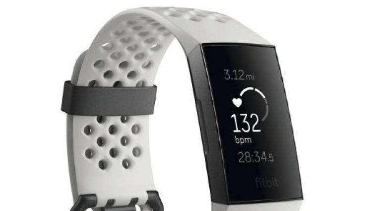 Ezt tudja majd a Fitbit Charge 3 kép