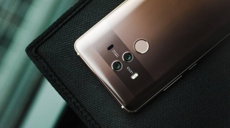Tripla kamerával közelít a Huawei Mate 20 Pro kép