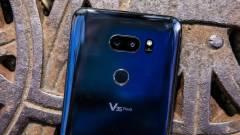 Az iPhone-ok után jön az 5-kamerás LG V40 ThinQ kép