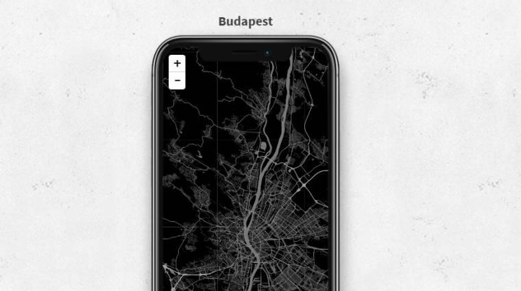 Így csinálj mobilos hátteret bármilyen térképből kép