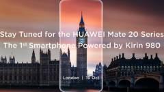 Október 16-án támad a Huawei Mate 20 Pro kép