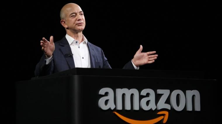 Már az Amazon is több mint 1 billió dollárt ér, Jeff Bezos lekörözte Bill Gatest kép