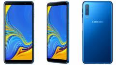 Hivatalos a Galaxy A7: tripla kamerával támad az új Samsung okostelefon kép