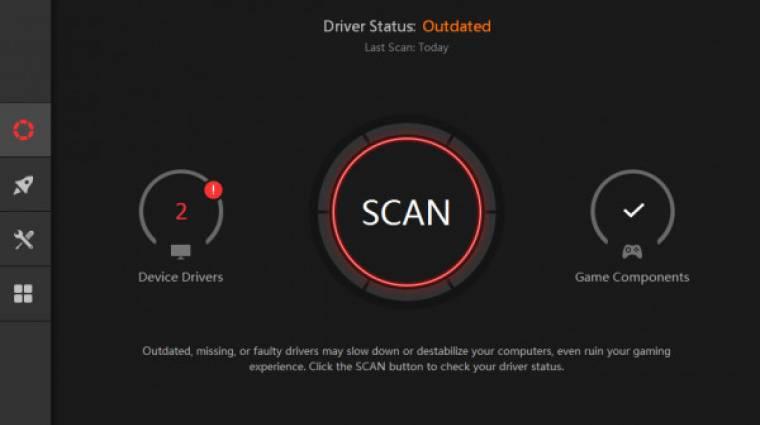 Hatalmas adatbázissal támad a Driver Booster 6 kép