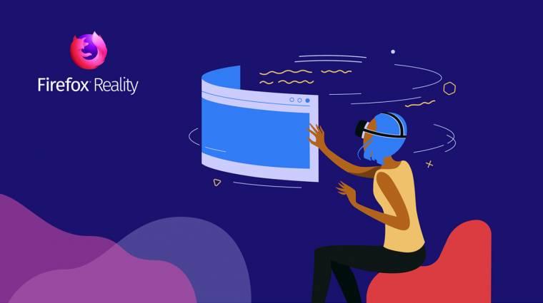 Megérkezett a Firefox Reality VR-böngésző kép