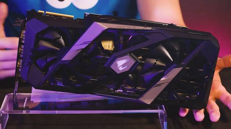 Ilyen lesz az Aorus GeForce RTX 2080 Ti Extreme kép