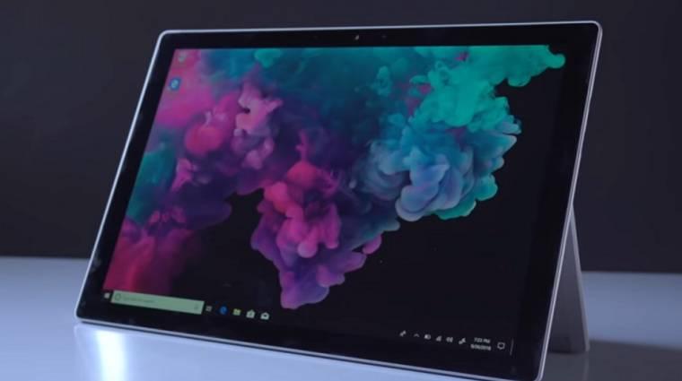 Csalódást okoz majd a Microsoft Surface Pro 6 kép