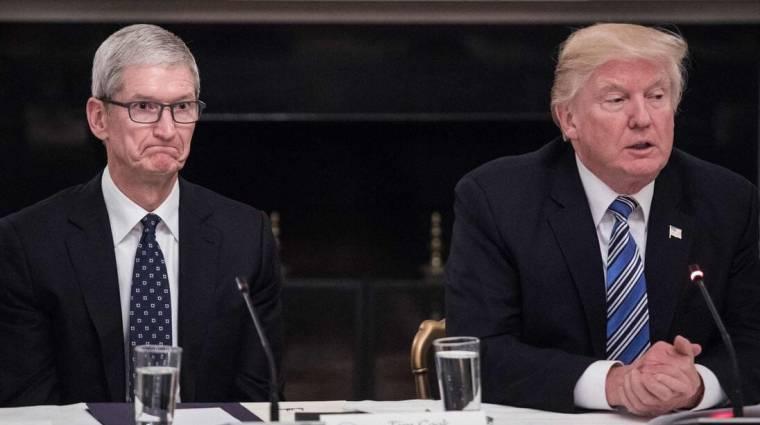Trump szorult helyzetbe hozta az Apple-t kép