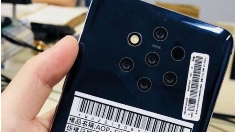 Belógó szenzorsáv nélkül jöhet az 5-kamerás Nokia 9 kép