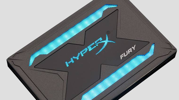 RGB-s SSD-t is villantott a HyperX kép