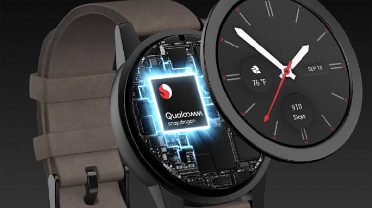 Nagy változást hoz az okosórák piacára az új Qualcomm chip kép