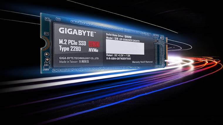 Jönnek az újabb M.2-es Gigabyte SSD-k kép