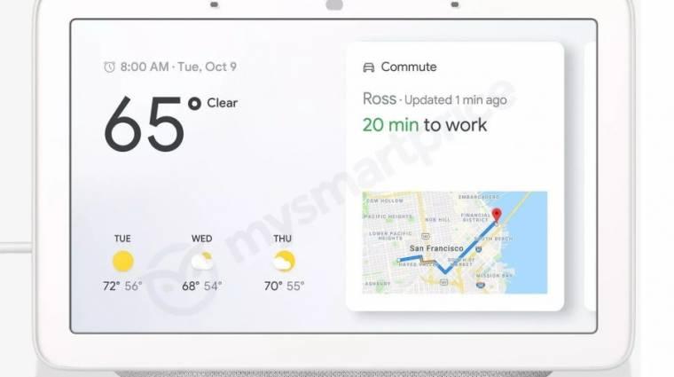 Kiszivárgott a Google Home Hub okoskijelző kép